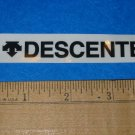 DESCENTE BLK Road Tri Mountain Bike Frame Sticker Decal
