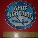 WHITE LIGHTNING BICYCLES BIKE FRAME STICKER DECAL ~BIG~