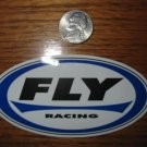 FLY RACING BIKE BMX STREET MOTOCROSS RACE STICKER DECAL