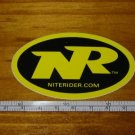 NITE RIDER Bike Frame Road Mountain Race STICKER DECAL