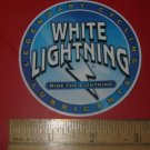 WHITE LIGHTNING BICYCLES BIKE FRAME STICKER DECAL Small