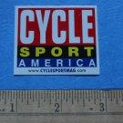 CYCLE SPORT AMERICA Mountain Road Bike STICKER DECAL