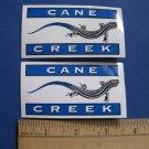 2 CANE CREEK SHOCK BIKE MTB MOUNTAIN ROAD STICKER DECAL