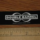 DOUBLE BARREL  Cane Creek Bike Bicycle STICKER DECAL