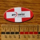 "1.5"" DT SWISS Oval Red Wheels Hubs Road Tri Ride BIKE BICYCLE STICKER DECAL"