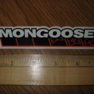 "5"" MONGOOSE BMX Road Tri TT Fixed Mountain Bicycle Bike Frame --  STICKER DECAL"
