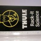 "2.5"" THULE BIKE SKI KAYAK RACK Black Car Truck Frame Bike Bicycle STICKER DECAL"