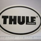 "5"" THULE BIKE SKI KAYAK RACK OVAL Car Truck Frame Bike Bicycle STICKER DECAL"