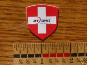 DT SWISS Crest Shield Road Tri Hub TT Wheel Mountain Bike Bicycle STICKER DECAL
