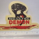 "4"" NOVATEC DEMON Ride Car Truck Fork MTB Rack Bike BICYCLE FRAME STICKER DECAL"