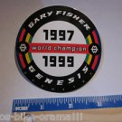 "3"" Gary Fisher World Champion MOUNTAIN BIKE BICYCLE Frame Ride STICKER DECAL"