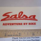 "3"" SALSA CYCLES  Frame Mountain Bike Race DECAL STICKER"