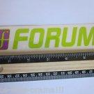 "6"" FORUM Green/Purple Ski Snowboard Race Rack Ride DECAL STICKER - FREE SHIPPING"