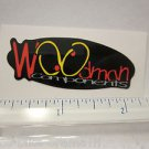 """2"""" WOODMAN Components Ride Mountain Road Race Bicycle BIKE FRAME STICKER DECAL"""