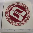 "4"" EASTERN BIKES Red BMX Street Bicycle Ride Race Car Tool Frame STICKER DECAL"