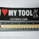 "6"" I (heart) my TOOL  Pedal Logo Ride Mountain Bicycle Bike Frame Sticker Decal"
