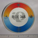 "3.5"" PEARL IZUMI Black Logo Ride Mountain Road Mountain Bike Frame Sticker Decal"