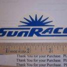 """4"""" Sun Race GIRL MTB Frame Mountain Bike DECAL STICKER"""