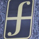 "5"" FORUM Gold/Black Ski Snowboard Race Rack Ride DECAL STICKER - FREE SHIPPING"