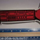 "6"" OURY RED GRIP Bike Bicycle NOS Vintage MTB MX BMX Mountain  DECAL STICKER"