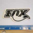"3"" x 1.5"" Black/White FOX RACING Ride  Bicycle Bike Mountain Road STICKER DECAL"
