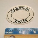 "2"" CO-MOTION CYCLES Super Ride  Bicycle Bike Mountain Road Tri STICKER DECAL"
