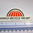 "4"" World Bicycle Relief Bike Mountain Road Tri STICKER DECAL"