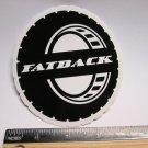 "4"" FATBACK ALASKA MX MTB Fat Tire Bike Ride Mountain Frame Bicycle DECAL STICKER"