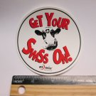"3.5"" DT SWISS Get Your ON (Dirt MX RIDE BMX DH MX MTB Frame Bike) DECAL STICKER"