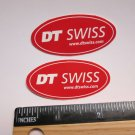 "TWO - 2"" DT SWISS Rim Hub (Dirt MX RIDE BMX DH MX MTB Frame Bike) DECAL STICKER"