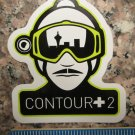 "3"" CONTOUR +2 Camera MTB  Commute Ride Mountain Frame Bicycle DECAL STICKER"