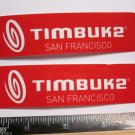 "TWO 4.25"" TIMBUK2 Bag Ride MX MTB RIDE DH Mountain Road Frame Bike DECAL STICKER"