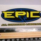 "4"" EPIC LUBE Bike Chain BMX  MTB Road Tri TRAIL Ride Frame Bicycle DECAL STICKER"