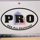 "5"" USA PRO CHALLENGE Trail Dirt MX RIDE BMX DH MX MTB Frame Bike) DECAL STICKER"