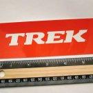 "6"" TREK Red MTB Road Tru Race Mountain Bike Ride Frame Bicycle DECAL STICKER"