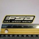 """3.25"""" FSA Full Mountain Bike Bicycle Frame Car MTB Truck Rack DECAL STICKER ma1"""