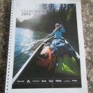2013 CASCADE DESIGNS Workbook Book Hike Camp Adventure 115 Page Catalog