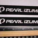 "TWO - 5"" PEARL IZUMI Bicycle Sticker (Mountain, Road, Frame Bike Decal) rbz"