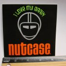"4.25"" NUTCASE Love Brain MTB Road Tri TRAIL Ride Frame Bicycle DECAL STICKER rbz"