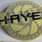 -Authentic- HAYES DISC MTB DH Frame Bike Ride Mountain Bicycle DECAL STICKER RBR