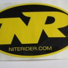 -Authentic- NITERIDER Nite Rider Bike Ride Mountain Bicycle DECAL STICKER RBR