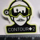 "ONE 3"" CONTOUR +2 Camera MTB  Ride Mountain Frame Bicycle DECAL STICKER  RBZ"