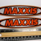"TWO 6.5"" MAXXIS Tires MX MTB RIDE DH Mountain Road Frame Bike DECAL STICKER rbz"