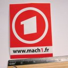 """ONE 4.5"""" MACH 1 One Road MTB Race TRAIL Ride Frame Bicycle DECAL STICKER rbz"""