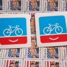 2 PEOPLE FOR BIKES Ride  MTB RIDE DH Mountain Road Frame Bike DECAL STICKER rbz