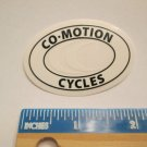 """2"""" CO-MOTION CYCLES Ride Bicycle Bike Mountain Road Tri STICKER DECAL rbz"""