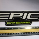 "8"" EPIC CAMERAS HD Road Tri MTB Mountain Bike Frame Bicycle DECAL STICKER RBZ"
