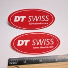 "TWO 3.4"" DT SWISS Rim Hub (Dirt MX RIDE BMX DH MTB Frame Bike DECAL STICKER rbz"