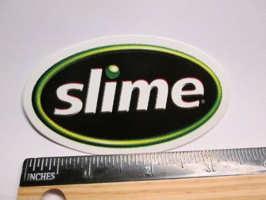 "3.5"" SLIME Tire Tube Road MTB Road TRAIL Ride Frame Bicycle DECAL STICKER rbz"