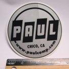 "4"" PAUL Comp Chico CA  (RIDE DH MTB Mountain Road Frame Bike) DECAL STICKER rbz"